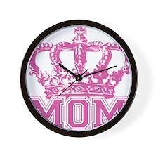 crown_mom Wall Clock