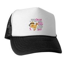 Mad Chick 3L Breast Cancer Trucker Hat