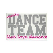 dance-team-varsity-college Rectangle Magnet