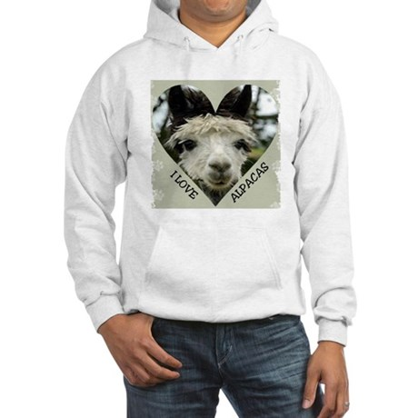 Alpacas Hooded Sweatshirt