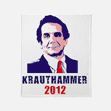 krauthammer front Throw Blanket