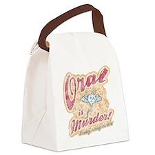 oral-murder2-T Canvas Lunch Bag