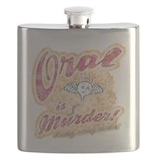 oral-murder2-T Flask