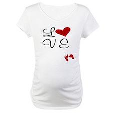 Love Baby Feet Shirt