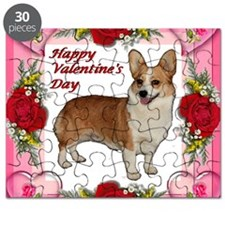 Valentine Standing Dott Hearts  Roses Puzzle