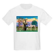 Saint Francis & Sloughi Kids T-Shirt