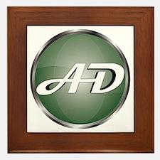 AD Logo Framed Tile