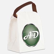 AD Logo Canvas Lunch Bag