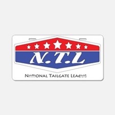 2-ntl-1 Aluminum License Plate