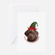 Santa's Helper Greeting Card