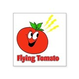 Flying tomato Stickers
