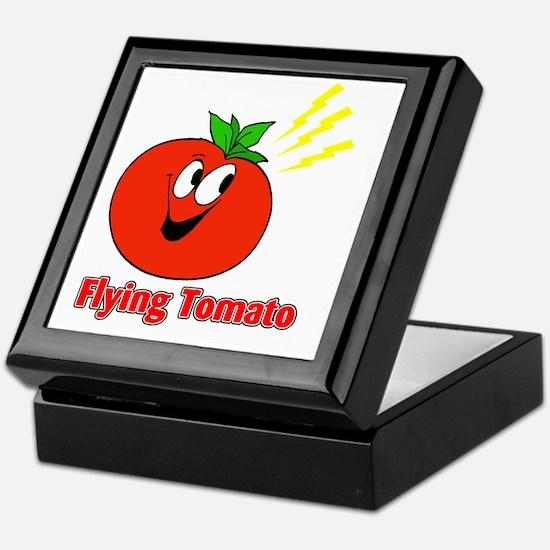 flying tomato Keepsake Box