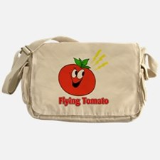 flying tomato Messenger Bag