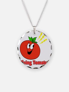flying tomato Necklace