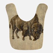 Vintage Bison Bib