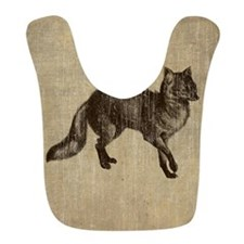 Vintage Fox Bib