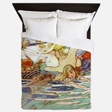 Alice Woodward006X Queen Duvet