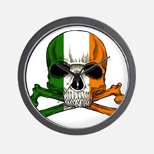 irish bad ass_plain Wall Clock
