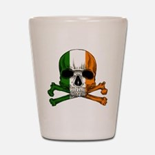 irish bad ass_plain Shot Glass