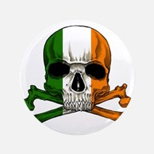 "irish bad ass_plain 3.5"" Button"
