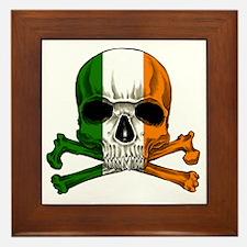 irish bad ass_plain Framed Tile
