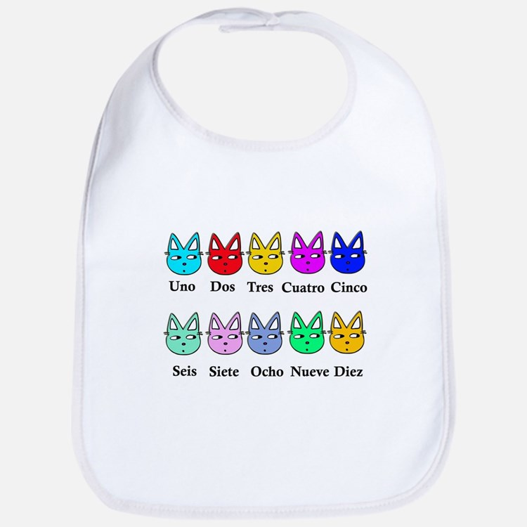 Spanish Counting Bib