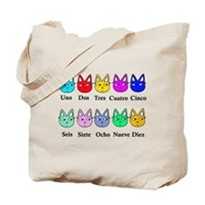 Spanish Counting Tote Bag