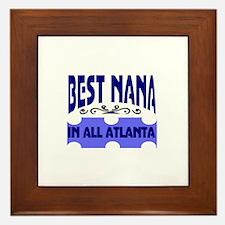 Atlanta nana Framed Tile