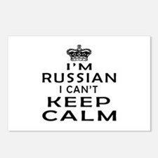 I Am Russian I Can Not Keep Calm Postcards (Packag