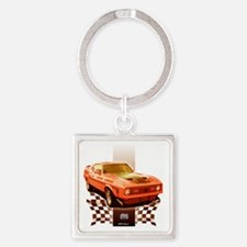 72back Square Keychain