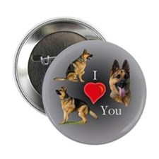 I love You GSD Button