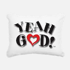 Y-God Logo for CP Rectangular Canvas Pillow