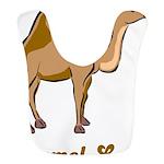Camel Love Bib