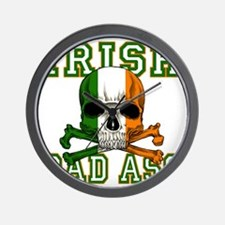 irish bad ass Wall Clock