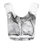 Camel Illustration Bib