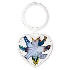 feathers Heart Keychain