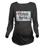 Camel Lover Long Sleeve Maternity T-Shirt
