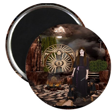 """Hecate Queen of Sacred Knowle 2.25"""" Magnet (10 pac"""