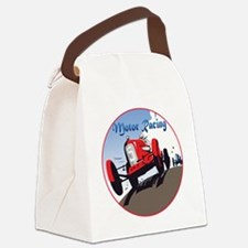 MotorRacing-C8trans Canvas Lunch Bag