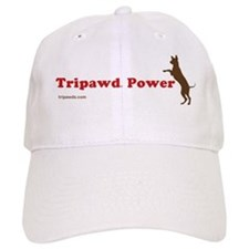 Tripawd Power Three Legged GSD Dog Bowl Baseball Baseball Cap
