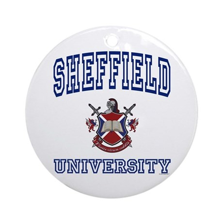 SHEFFIELD University Ornament (Round)