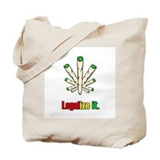 Legalize it Spleaf Tote Bag