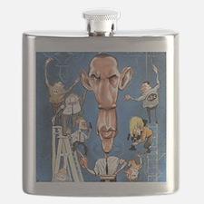 Obama Press Room Flask