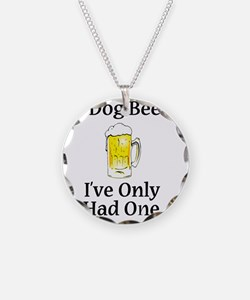 Dog Beers Necklace