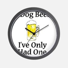 Dog Beers Wall Clock
