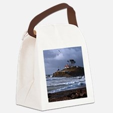 (12) battery point lighthouse & g Canvas Lunch Bag
