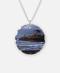 (12) battery point lighthous Necklace
