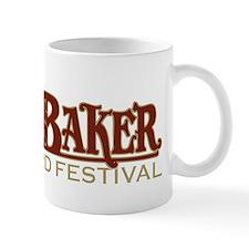 2010 Mt Baker Fest Logo Black Mug