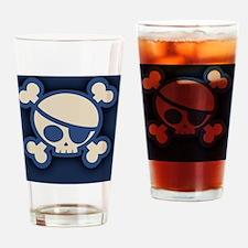 Billy-roger-blu-OV Drinking Glass