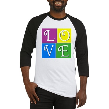 Love--ChocolateBox style Baseball Jersey